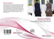 Mehmet Ali Şahin kitap kapağı