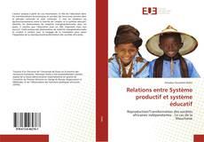 Capa do livro de Relations entre Système productif et système éducatif