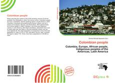 Bookcover of Colombian people