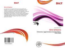 Buchcover von Aire Urbaine