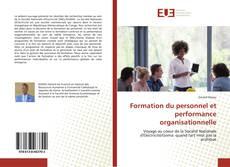 Обложка Formation du personnel et performance organisationnelle