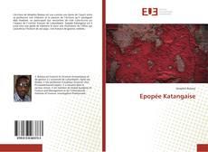 Portada del libro de Epopée Katangaise