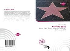 Couverture de Karolina Bock