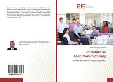 Bookcover of Initiation au Lean Manufacturing