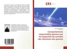 Bookcover of Comportements imprevisibles generes par les dispositifs de contröle des vibrations des poutres