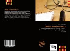 Bookcover of Alladi Ramakrishnan