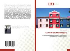 Bookcover of Le confort thermique