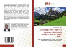 Bookcover of Développement agricole dans une économie minière : cas du Kasaï-RDC