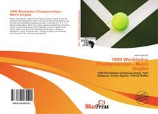 Bookcover of 1999 Wimbledon Championships – Men's Singles