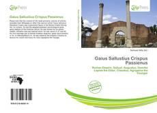Bookcover of Gaius Sallustius Crispus Passienus