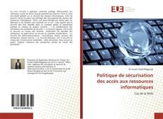 Couverture de Politique de sécurisation des accès aux ressources informatiques