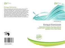 Buchcover von Enrique Gainzarain