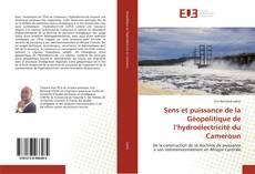Couverture de Sens et puissance de la Géopolitique de l'hydroélectricité du Cameroun