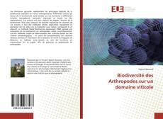 Bookcover of Biodiversité des Arthropodes sur un domaine viticole