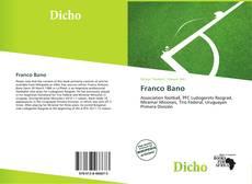 Copertina di Franco Bano