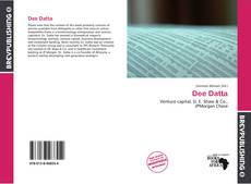 Bookcover of Dee Datta