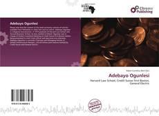 Обложка Adebayo Ogunlesi