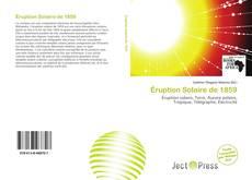 Capa do livro de Éruption Solaire de 1859