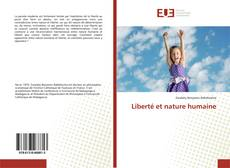 Bookcover of Liberté et nature humaine