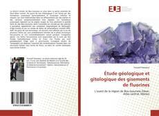 Bookcover of Étude géologique et gîtologique des gisements de fluorines