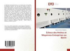 Couverture de Échecs des Petites et Moyennes Entreprises au Bénin