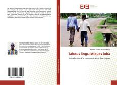 Bookcover of Tabous linguistiques lubà