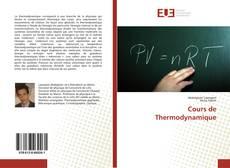 Couverture de Cours de Thermodynamique