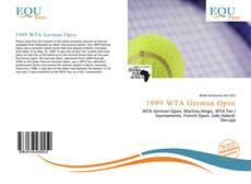 Buchcover von 1999 WTA German Open