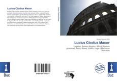 Copertina di Lucius Clodius Macer