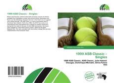 Couverture de 1999 ASB Classic – Singles