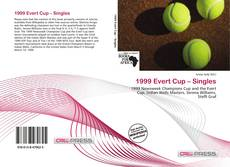 Bookcover of 1999 Evert Cup – Singles