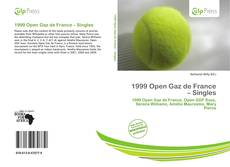 1999 Open Gaz de France – Singles kitap kapağı