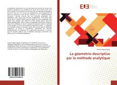 Capa do livro de La géométrie descriptive par la méthode analytique
