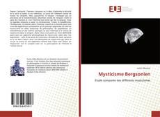 Bookcover of Mysticisme Bergsonien