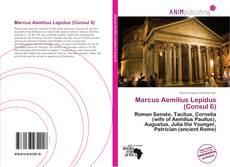 Marcus Aemilius Lepidus (Consul 6) kitap kapağı