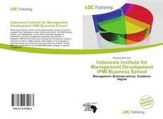 Bookcover of Indonesia Institute for Management Development IPMI Business School