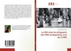 Bookcover of La RSE chez les dirigeants des PME sénégalaises: Cas de 3 PME