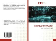 Bookcover of VARIABLES COMPLEXES