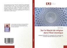 Capa do livro de Sur la liberté de religion dans l'État islamique