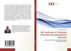 Bookcover of De l'exclusion à l'inclusion financière des populations précaires