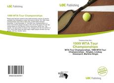 Bookcover of 1999 WTA Tour Championships