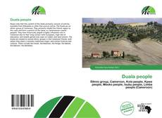 Bookcover of Duala people