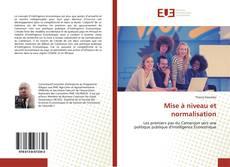 Capa do livro de Mise à niveau et normalisation