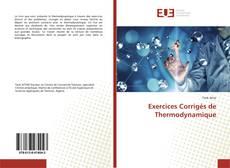 Capa do livro de Exercices Corrigés de Thermodynamique