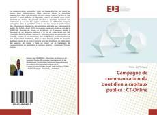 Buchcover von Campagne de communication du quotidien à capitaux publics : CT-Online