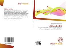 Portada del libro de Adrián Berbia