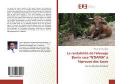 """Borítókép a  La rentabilité de l'élevage Bovin race """"N'DAMA"""" à l'épreuve des taxes - hoz"""