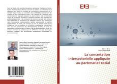 Buchcover von La concertation intersectorielle appliquée au partenariat social