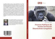 Finances Publiques de l'Entité Territoriale Décentralisée Congolaise的封面