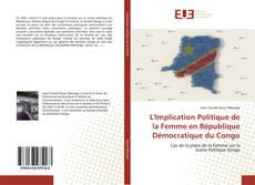 Обложка L'Implication Politique de la Femme en République Démocratique du Congo